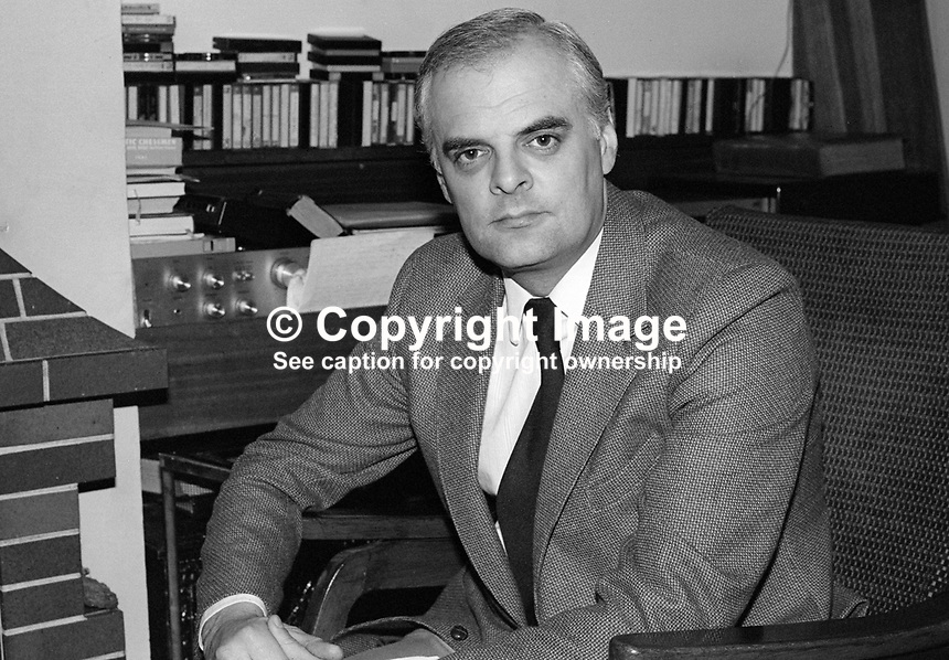 Rev Ivan Foster, Kilskeery, Co Tyrone, N Ireland, clergyman, Free Presbyterian Church, founded by Rev Ian Paisley. 198201001IF2..Copyright Image from Victor Patterson, 54 Dorchester Park, Belfast, UK, BT9 6RJ..Tel: +44 28 9066 1296.Mob: +44 7802 353836.Voicemail +44 20 8816 7153.Skype: victorpattersonbelfast.Email: victorpatterson@me.com.Email: victorpatterson@ireland.com (back-up)..IMPORTANT: If you wish to use this image or any other of my images please go to www.victorpatterson.com and click on the Terms & Conditions. Then contact me by email or phone with the reference number(s) of the image(s) concerned.