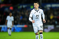 Bersant Celina of Swansea City during the Sky Bet Championship match between Swansea City and Charlton Athletic at the Liberty Stadium in Swansea, Wales, UK.  Thursday 02 January 2020