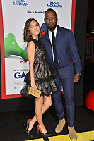 Lamorne Morris &amp; Erin Lim at the premiere for &quot;Game Night&quot; at the TCL Chinese Theatre, Los Angeles, USA 21 Feb. 2018<br /> Picture: Paul Smith/Featureflash/SilverHub 0208 004 5359 sales@silverhubmedia.com