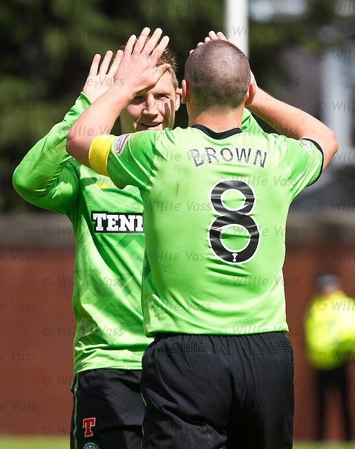 Kris Commons and Scott Brown