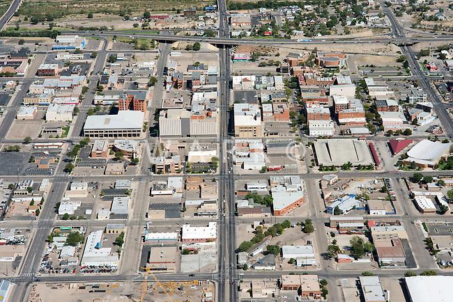 Aerial of downtown Pueblo, Colorado. JC81446