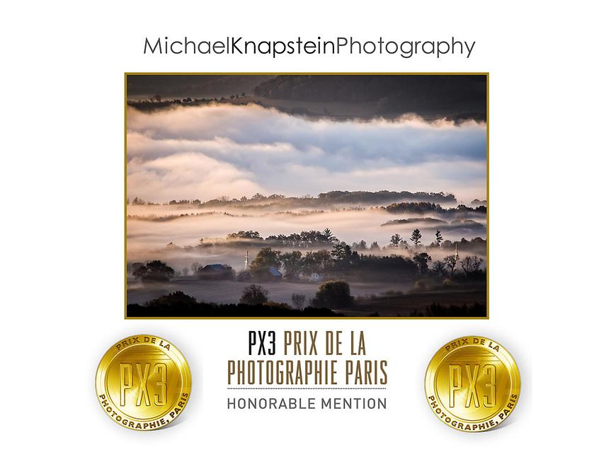 """""""Wawanissee Point"""" won Honorable Metion in teh 2017 Prix de la Photographie Paris (PX3)."""