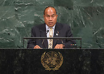 72 General Debate – 22 September <br /> <br /> His Excellency Taneti Maamau, President and Head of Government of the Republic of Kiribati