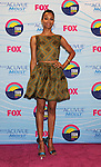 UNIVERSAL CITY, CA - JULY 22: Zoe Saldana poses in the press room at the 2012 Teen Choice Awards at Gibson Amphitheatre on July 22, 2012 in Universal City, California.