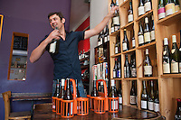 Europe/France/Provence-Alpes-Côte d'Azur/13/Bouches-du-Rhône/Marseille: Bar à Vin - Restaurant: Les Buvards, Frédéric Coachon [Non destiné à un usage publicitaire - Not intended for an advertising use]