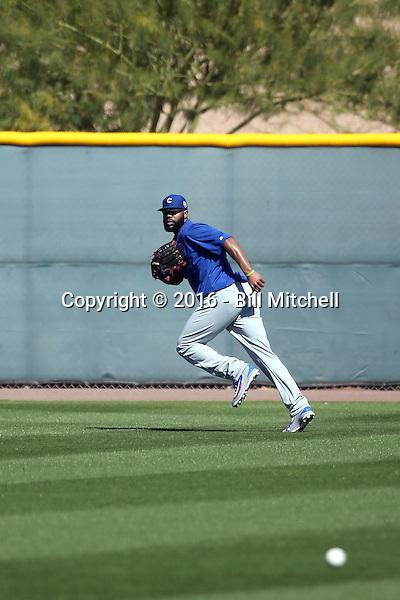 Jason Heyward - Chicago Cubs 2016 spring training (Bill Mitchell)