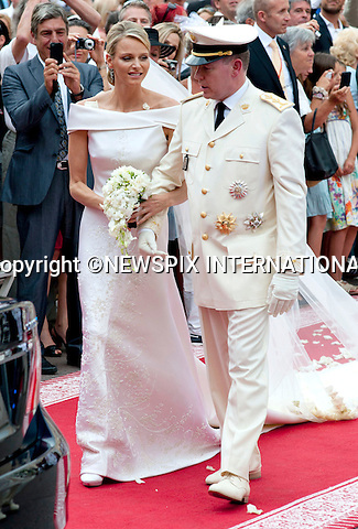 """MONACO ROYAL WEDDING .Prince Albert II and Princess Charlene Wittstock..Guests Arrive at the Religious wedding of H.S.H Prince Albert II and Miss Charlene Wittstock in the Prince's Palace._Prince's Palace Monaco 01/07/2011..Mandatory Photo Credit: ©Dias/Newspix International..**ALL FEES PAYABLE TO: """"NEWSPIX INTERNATIONAL""""**..PHOTO CREDIT MANDATORY!!: NEWSPIX INTERNATIONAL(Failure to credit will incur a surcharge of 100% of reproduction fees)..IMMEDIATE CONFIRMATION OF USAGE REQUIRED:.Newspix International, 31 Chinnery Hill, Bishop's Stortford, ENGLAND CM23 3PS.Tel:+441279 324672  ; Fax: +441279656877.Mobile:  0777568 1153.e-mail: info@newspixinternational.co.uk"""
