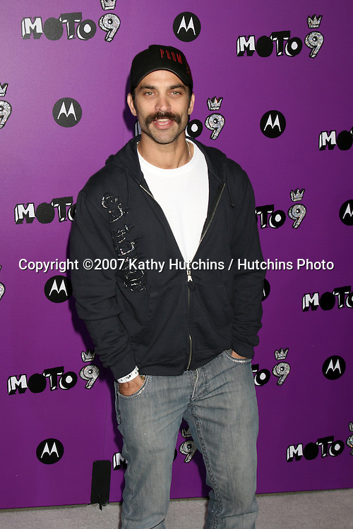 "Jonathan Schaech.Motorola 9 Party.""The Lot"".Los Angeles,  CA.November 8, 2007.©2007 Kathy Hutchins / Hutchins Photo...               ."