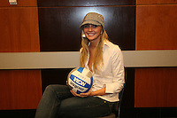 15 December 2006: Stanford Cardinal Kristin Richards was named to the Third Team during Stanford's 2006 American Volleyball Coaches Association (AVCA) Division I All-American Teams Award Banquet at the Qwest Center in Omaha, NE.
