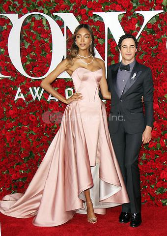 NEW YORK, NY-June 12:  Jourdan Dunn, Zac Posen  at the 70th Annual Tony Awards at the Beacon Theatre in New York. NY June 12, 2016. Credit:RW/MediaPunch