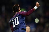 Celebration Esultanza de Neymar Jr (PSG) apres son but<br /> Parigi 31-10-2017 <br /> Paris Saint Germain - Anderlecht Champions League 2017/2018<br /> Foto Panoramic / Insidefoto