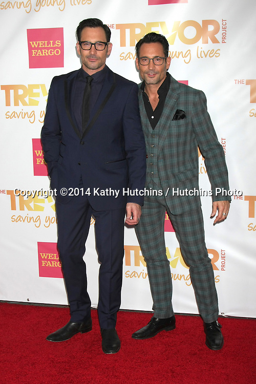 "LOS ANGELES - DEC 7:  Lawrence Zarian, Gregory Zarian at the ""TrevorLIVE LA"" at the Hollywood Palladium on December 7, 2014 in Los Angeles, CA"