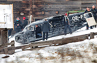 "15.01.2015, Obertilliach, Austria <br /> Daniel Craig <br /> Set del film James Bond 007 ""Spectre"" with the working title ""Bond 24"" <br /> Foto EXPA/ Johann Groder/Insidefoto"