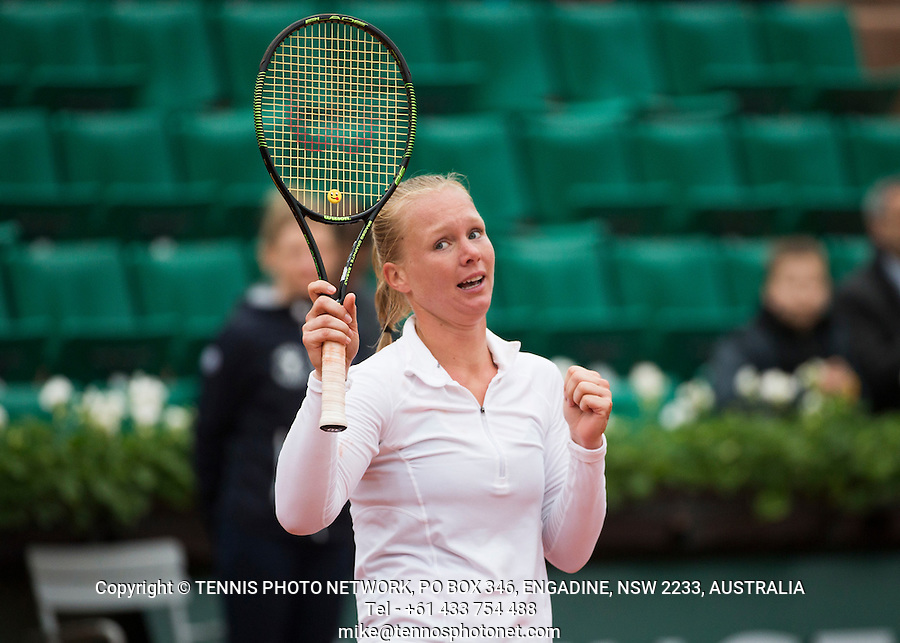 KIKI BERTENS (NED)<br /> <br /> TENNIS - FRENCH OPEN - ROLAND GARROS - ATP - WTA - ITF - GRAND SLAM - CHAMPIONSHIPS - PARIS - FRANCE - 2016  <br /> <br /> <br /> <br /> &copy; TENNIS PHOTO NETWORK