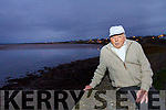 Chas Laide Ballyduff the oldest man fishing on the Cashen.