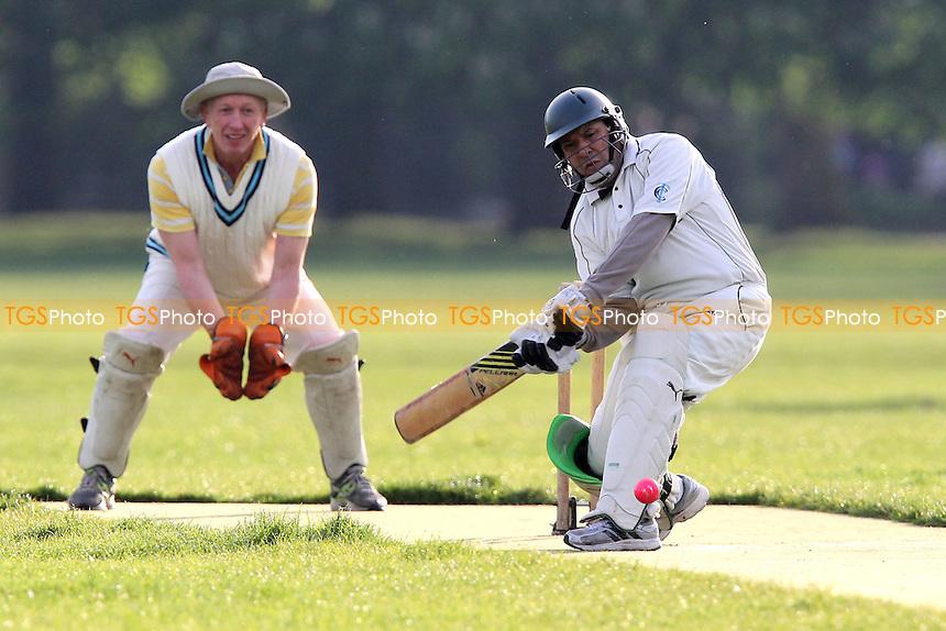 Tower Cavaliers CC (fielding) vs Junoon CC - Victoria Park Community Cricket League at Victoria Park, London - 30/04/12 - MANDATORY CREDIT: Gavin Ellis/TGSPHOTO - Self billing applies where appropriate - 0845 094 6026 - contact@tgsphoto.co.uk - NO UNPAID USE.