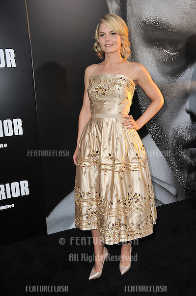 "Jennifer Morrison at the world premiere of her new movie ""Warrior"" at the Arclight Theatre, Hollywood..September 6, 2011  Los Angeles, CA.Picture: Paul Smith / Featureflash"