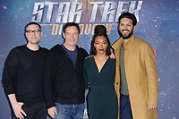 "producer, Aaron Harberts, Jason isaacs, Sonequa Martin-Green and Shazad Latif<br /> at the ""Star Trek Discovery"" photocall, Millbank Tower,  London<br /> <br /> <br /> ©Ash Knotek  D3347  05/11/2017"