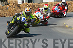 Wynne Kirwan leads the way in the eight race at Athea road races on Sunday.........   Copyright Kerry's Eye 2008