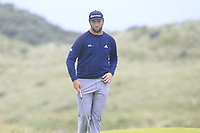Jon Rahm (ESP) on the 8th green during Sunday's Final Round of the 148th Open Championship, Royal Portrush Golf Club, Portrush, County Antrim, Northern Ireland. 21/07/2019.<br /> Picture Eoin Clarke / Golffile.ie<br /> <br /> All photo usage must carry mandatory copyright credit (© Golffile | Eoin Clarke)