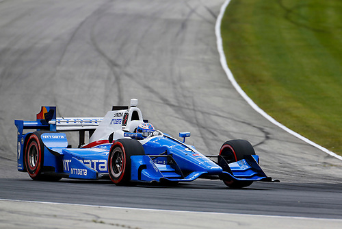 Verizon IndyCar Series<br /> Kohler Grand Prix<br /> Road America, Elkhart Lake, WI USA<br /> Sunday 25 June 2017<br /> Scott Dixon, Chip Ganassi Racing Teams Honda<br /> World Copyright: Phillip Abbott<br /> LAT Images<br /> ref: Digital Image abbott_elkhart_0617_7705