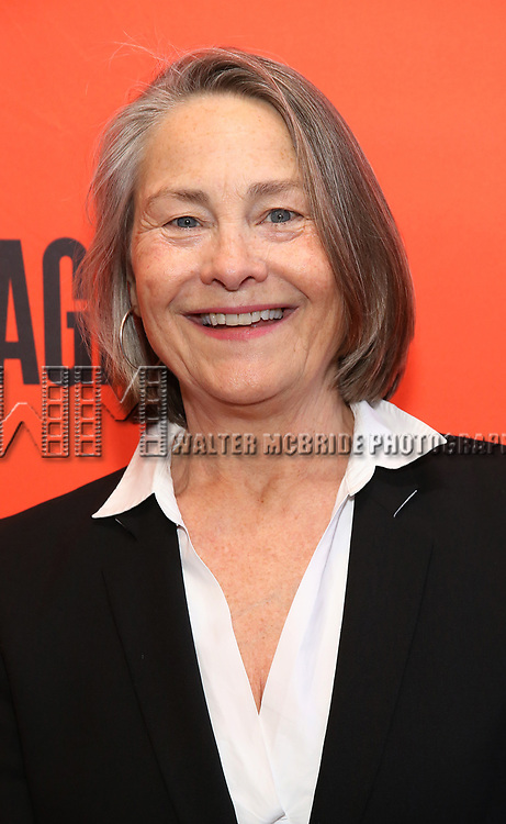 """Cherry Jones attending the Broadway Opening Night Performance of  """"Lobby Hero"""" at The Hayes Theatre on March 26, 2018 in New York City."""