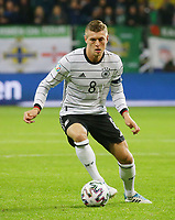 19th November 2019, Frankfurt, Germany; 2020 European Championships qualification, Germany versus Northern Ireland;  Toni Kroos GER