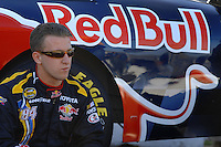 Apr 19, 2007; Avondale, AZ, USA; Nascar Nextel Cup Series driver A.J. Allmendinger (84) during qualifying for the Subway Fresh Fit 500 at Phoenix International Raceway. Mandatory Credit: Mark J. Rebilas