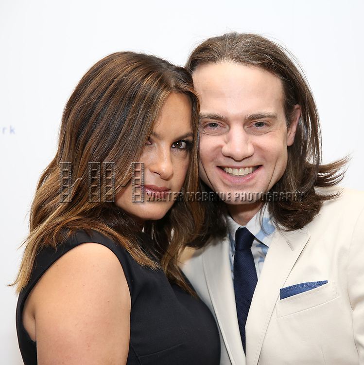 Mariska Hargitay and Jordan Roth attends The 7th Annual Elly Awards at The Plaza Hotel on June 19, 2017 in New York City.