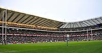 Twickenham, England. General view of Twickenham Stadium during the QBE Internationals England v Fiji at Twickenham Stadium on 10 November. Twickenham, England, 2012