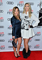 "LOS ANGELES, USA. November 21, 2019: Brandey Porter & Michelle Dunaway at the world premiere for ""Richard Jewell"" as part of the AFI Fest 2019 at the TCL Chinese Theatre.<br /> Picture: Paul Smith/Featureflash"