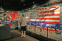 People touring The National WWII Museum New Orleans Louisiana