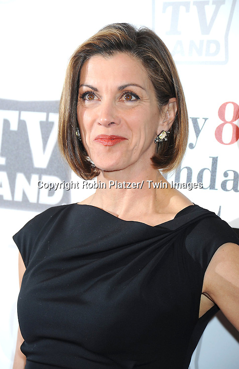 """Wendie Malick attending Betty White's 89th Birthday party given by TV Land and the cast of """"Hot in Cleveland"""" on January 18, 2011 at .Le Cirque in New York City."""