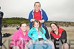 Taking it all in at the Caherdaniel Regatta on on Saturday last were front l-r; Katie Giles, Ali O'Sullivan, Megan Cronin & back Megan O'Sullivan from the Fossa Rowing Club.