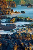 Coast at Ohea Gulch<br /> Kipahulu Coastal Area<br /> Haleakala National Park<br /> Island of Maui, Hawaii
