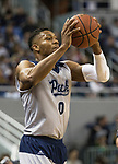 Nevada forward Tre'Shawn Thurman (0) throws the ball in against South Dakota State in the first half of an NCAA college basketball game in Reno, Nev., Saturday, Dec. 15, 2018. (AP Photo/Tom R. Smedes)