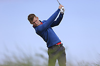 Ross Dutton (Tandragee) during the 1st round of the East of Ireland championship, Co Louth Golf Club, Baltray, Co Louth, Ireland. 02/06/2017<br /> Picture: Golffile | Fran Caffrey<br /> <br /> <br /> All photo usage must carry mandatory copyright credit (&copy; Golffile | Fran Caffrey)