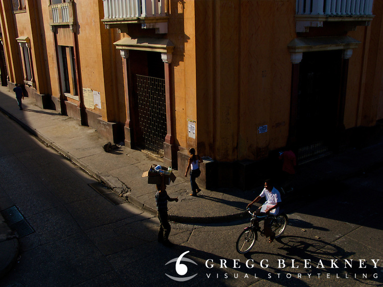 Street Scene - Cartagena - Colombia