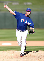 John Bannister  - Texas Rangers - 2009 spring training.Photo by:  Bill Mitchell/Four Seam Images