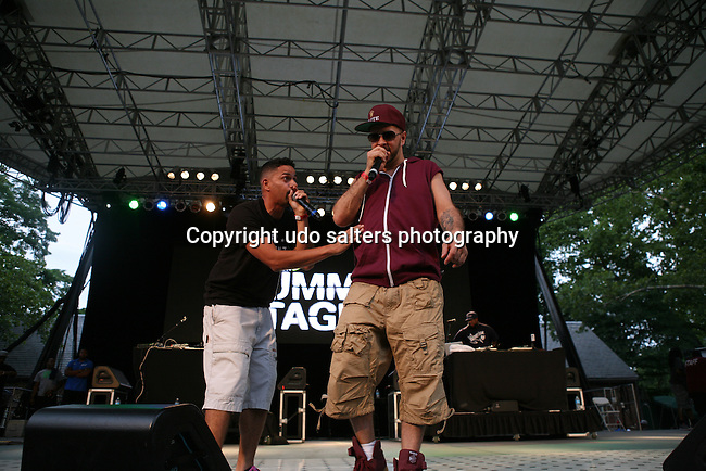 Destory and Tony Touch Perform at Rock Steady Crew 36th Year Anniversary Celebration at Central Park's SummerStage, NY