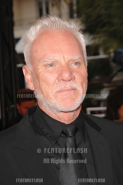 "Malcolm McDowell at screening for ""We Own the Night"" at the 60th Annual International Film Festival de Cannes..May 25, 2007  Cannes, France..© 2007 Paul Smith / Featureflash"