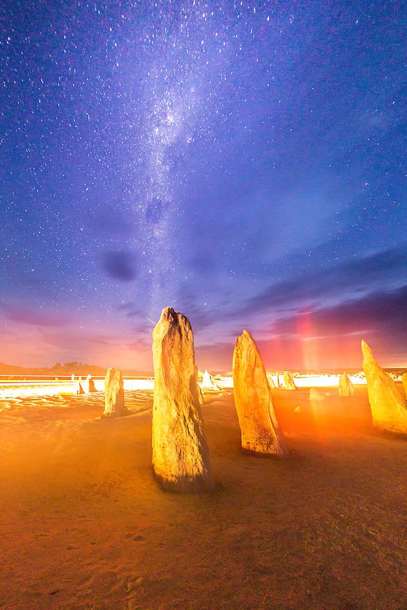 The Pinnacles. Western Australia.