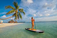 Maldives Paddleboarding/kayaking