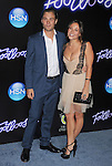"WESTWOOD, CA - OCTOBER 03: Patrick John Flueger and Briana Evigan attend the ""Footloose"" Los Angeles Premiere at Regency Village Theatre on October 3, 2011 in Westwood, California."