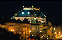 National--Theater Narodni Divadlo, Prag, Tschechien, Unesco-Weltkulturerbe