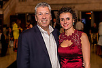 WATERBURY, CT. 18 May 2018-051818BS19 - From left, Wade Seward and his wife Josy Vidotti of Bloomfield pose for a photo on Friday evening for the Palace's Annual Big Fundraiser. Bill Shettle Republican-American