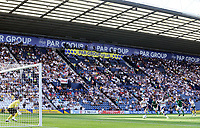 Preston North End's Daniel Johnson scores his side's second goal from the penalty spot<br /> <br /> Photographer Rich Linley/CameraSport<br /> <br /> The EFL Championship - Preston North End v Sheffield Wednesday - Saturday August 24th 2019 - Deepdale Stadium - Preston<br /> <br /> World Copyright © 2019 CameraSport. All rights reserved. 43 Linden Ave. Countesthorpe. Leicester. England. LE8 5PG - Tel: +44 (0) 116 277 4147 - admin@camerasport.com - www.camerasport.com