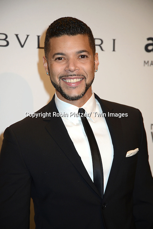 Wilson Cruz attends the amfAR New York Gala on February 5, 2014 at Cipriani Wall Street in New York City.