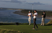 Senan Carroll (Ballybunion) on the 16th tee during the Munster Final of the AIG Senior Cup at Tralee Golf Club, Tralee, Co Kerry. 12/08/2017<br /> <br /> Picture: Golffile | Thos Caffrey<br /> <br /> All photo usage must carry mandatory copyright credit     (&copy; Golffile | Thos Caffrey)