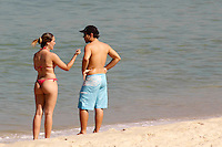 Rio de janeiro,02 de Junho de 2012- Movimentação na praia na do Arpoador na  manhã  dessa  segunda-feira(2).<br /> Guto Maia Brazil Photo Press